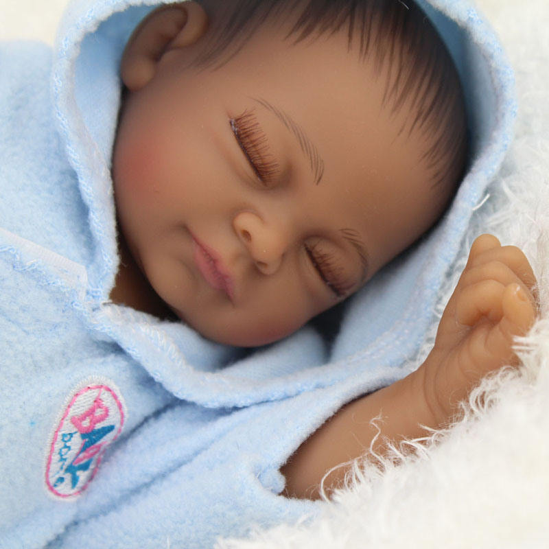 Black Reborn Baby Dolls African American Babies Doll For Sale
